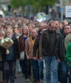 Impressie 4 mei herdenking 2016 in Groningen